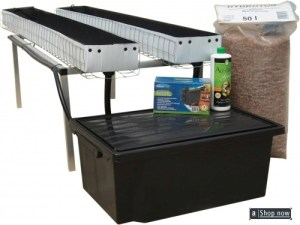 Ebb And Flow Hydroponic Tray System