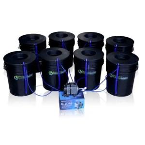 Hydroponic Bubbler 8 Bucket Kit