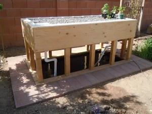 DIY Aquaponics Grow Beds