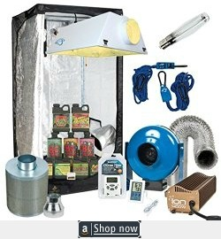 Complete Grow Tent Package with Filter, Fan