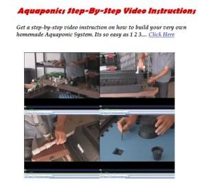 Aquaponics System Setup Video Instructions