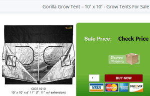 Gorilla Grow Tents For Sale