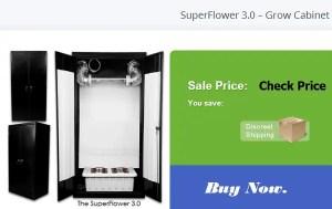 SuperFlower Grow Cabinet