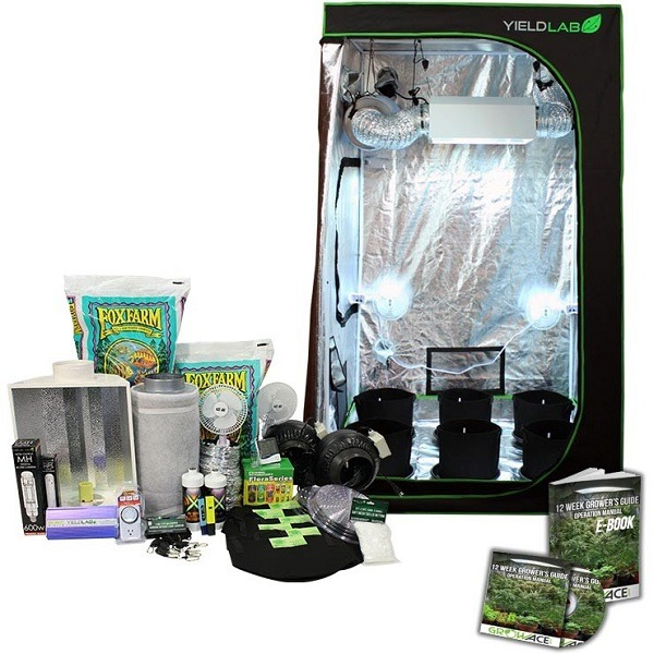 4x4ft HID Soil Complete Indoor Grow Tent System  sc 1 st  Grow Hydroponic : indoor grow tents cheap - memphite.com