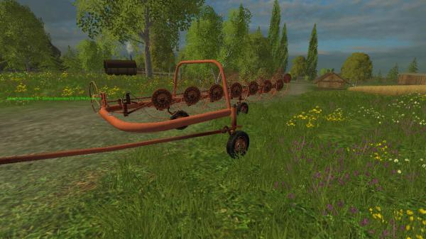 Farming Simulator 2015 Wheel Rakes | Autos Post