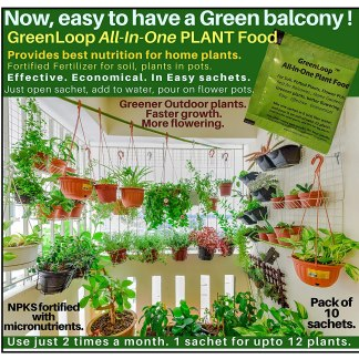 GreenLoop - All in One Plant Food All in One Fertilizer