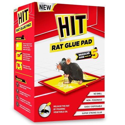 Rat/Mouse Glue Pad - No Smell, Non Poisonous, Easy to Use