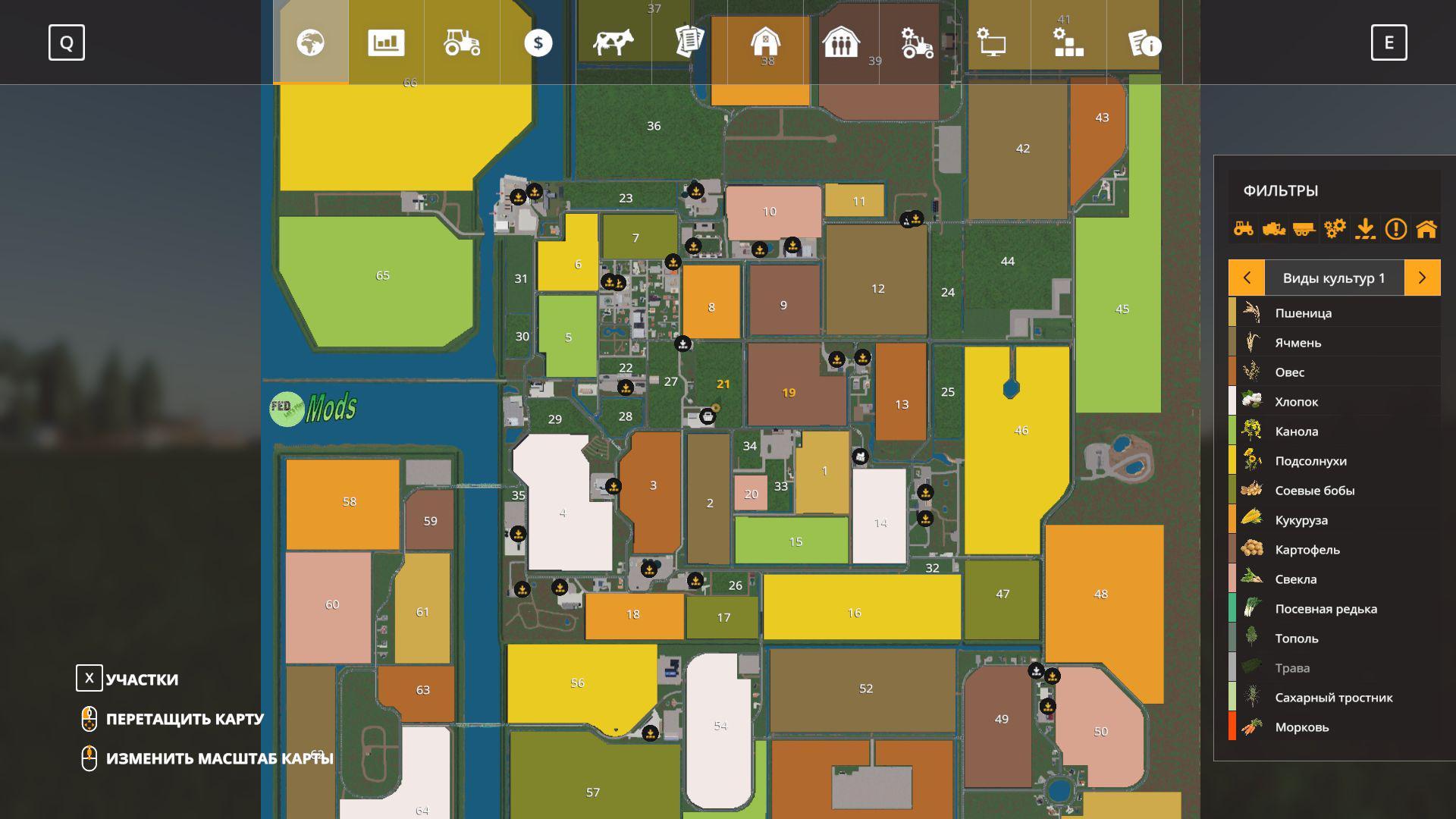 Us map v2.1 ravenport edit. Nf Marsch 4fach Og Rus V2 0 Map Farming Simulator 2019 19 Mod