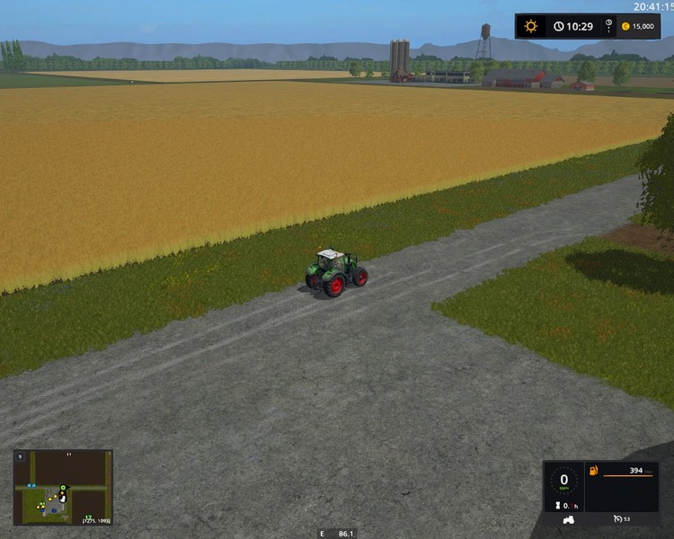 Westbridge Hills flat map V 1 FS2017   Farming simulator 17   2017 mod Westbridge Hills flat map V 1 FS2017