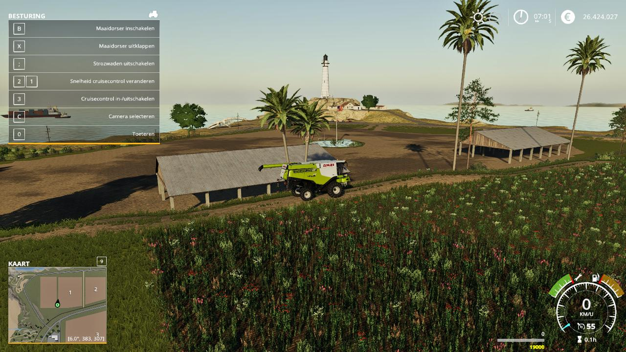 The main gridmaster map worksheet captures inputs from one of three supporting worksheets (confirmed in lotw, confirmed by qsl, and worked unconfirmed) and. Us Map V2 1 Fs19 Farming Simulator 19 Mod Fs19 Mod