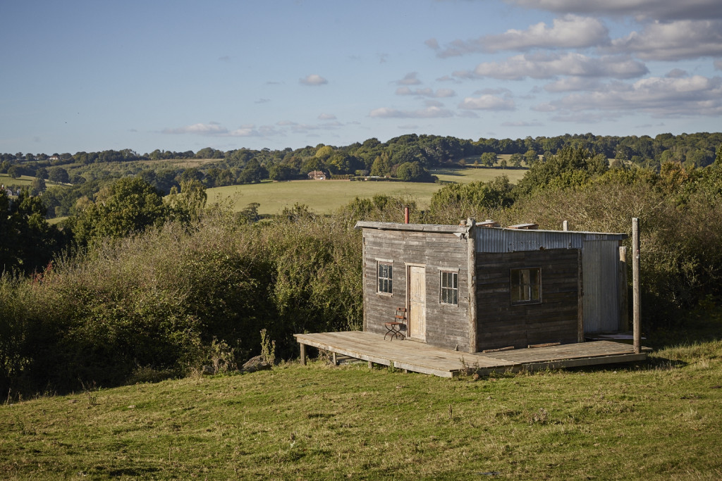 Shed location at Lidham Hill farm
