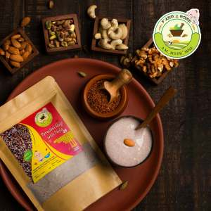 SPROUTED RAGI WITH NUTS PORRIDGE MIX (7 Months+)