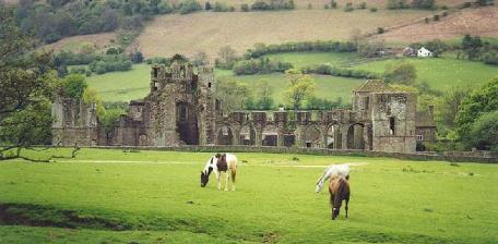Priory in the Black Mountains Wales