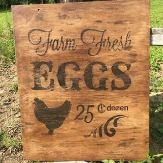 DIY Vintage Farm Sign