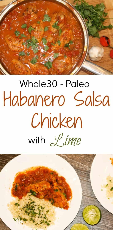 Whole30 Habanero Salsa Chicken