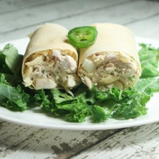 Paleo & Whole30 Chicken Salad Wraps