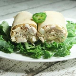 Paleo & Whole30 Chicken Salad Wraps