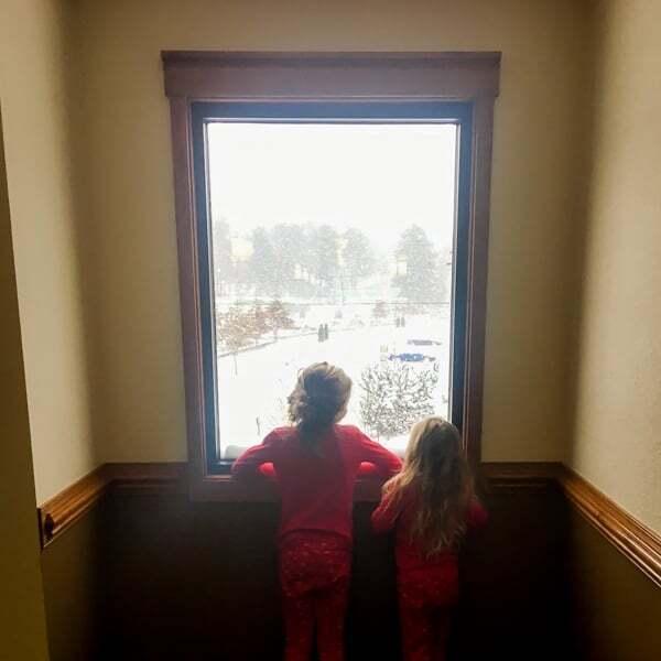 Snow in Asheville 2017