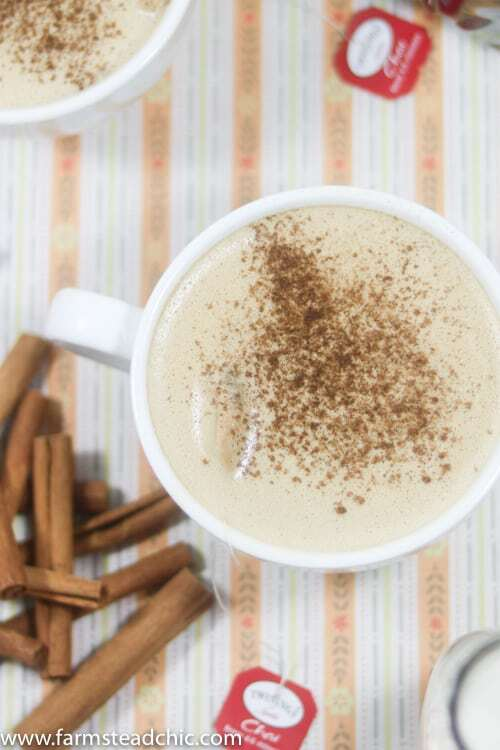 This Paleo and Whole30 Chai Spice Latte combines all the flavors of chai tea with freshly brewed coffee and a touch of creamy coconut milk to start your day off right. Sprinkle it with cinnamon for an extra little kick and a drool-worthy pic. Dairy free and vegan. <3
