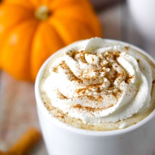 Paleo and Whole30 Pumpkin Spice Latte