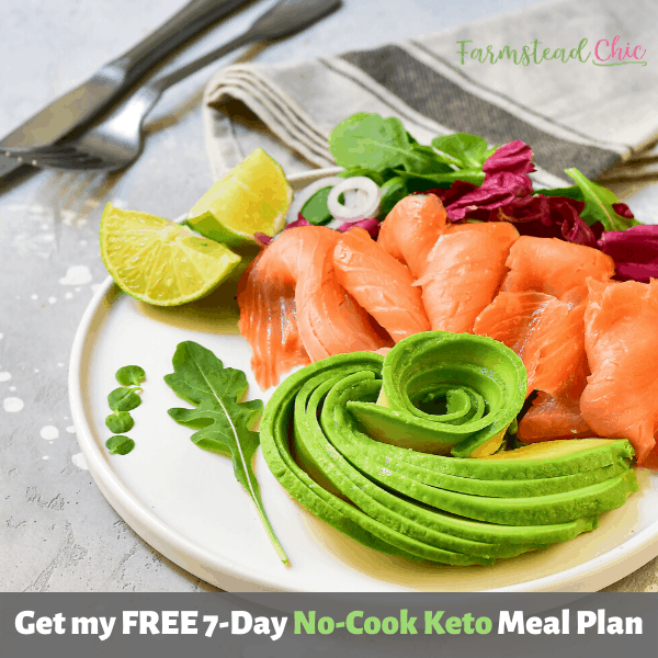 No Cook Keto Meal Plan - Budget Friendly Keto Meal Plan
