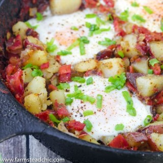 Whole30 Breakfast Skillet, Healthy One-Dish Brunch