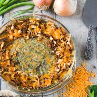Low Carb, Keto Green Bean Casserole – Gluten Free, Grain Free