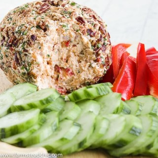 Low Carb, Keto Pineapple Ham Cheese Ball