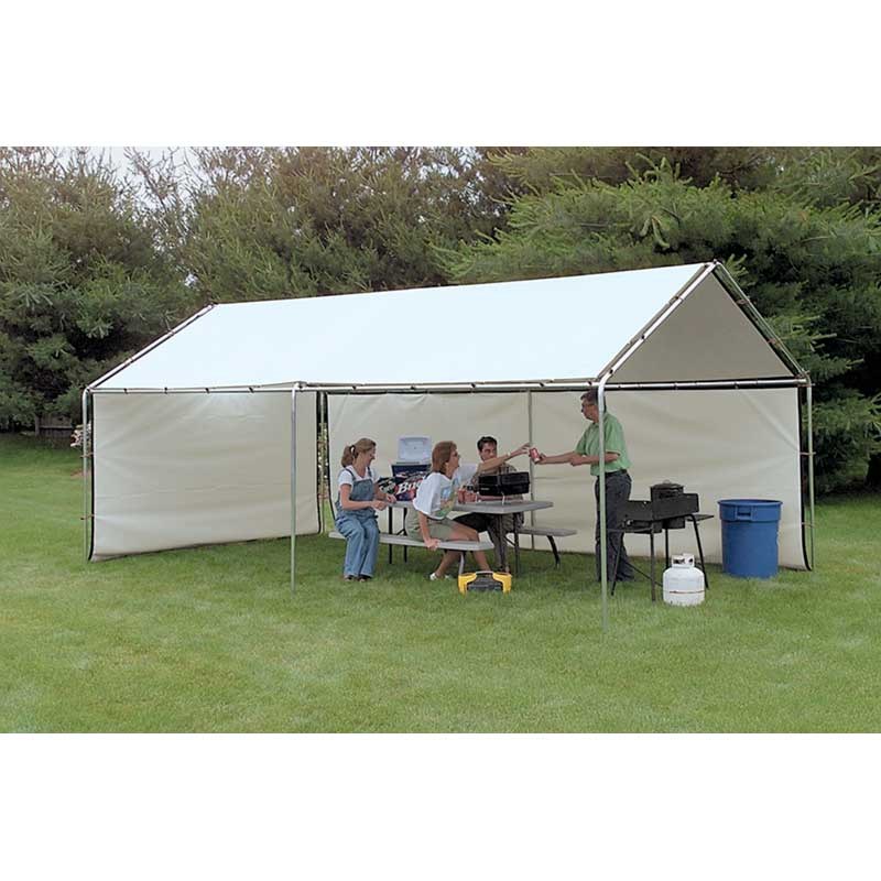 WeatherShield Portable Canopy White Replacement Cover 10