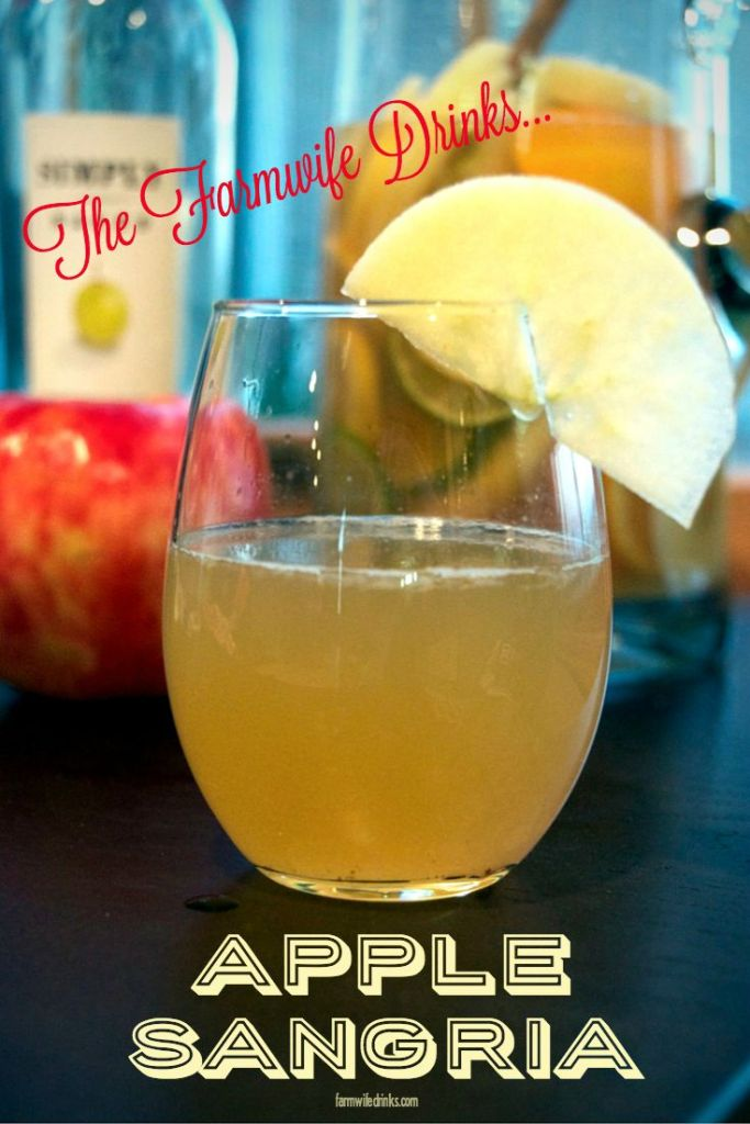 Want a crisp, fall inspired wine drink? Apple sangria is full of the flavor of fall without being overly sweet.