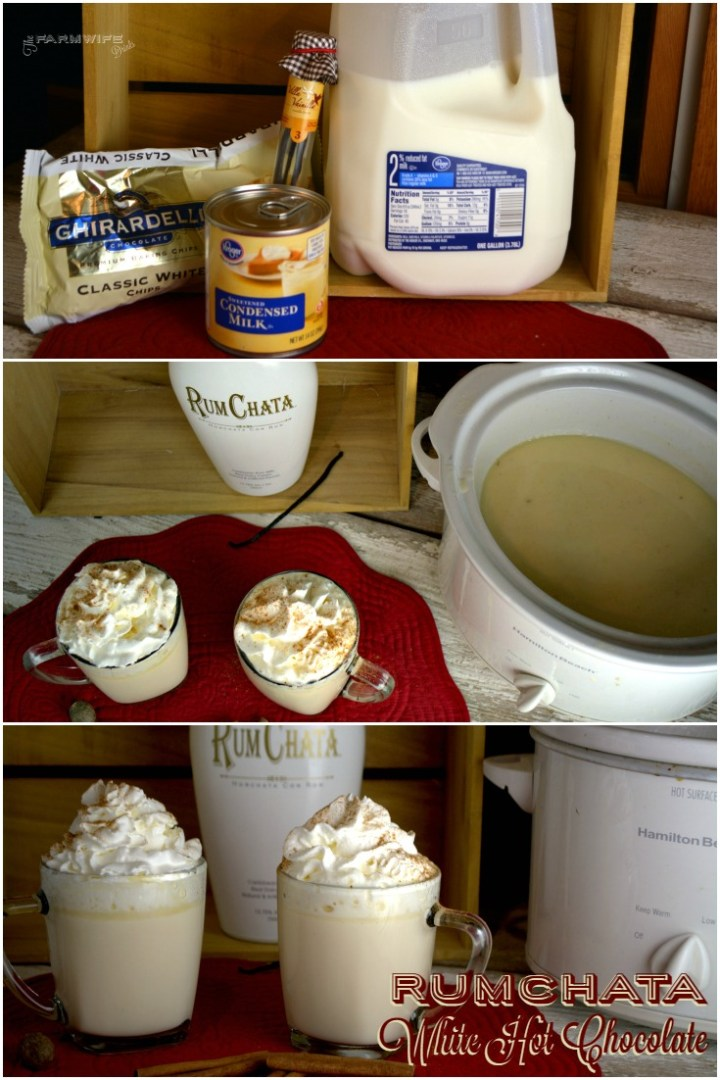 Crock Pot White Hot Chocolate recipe is one of the most decadent drink recipes I have ever experienced. It was rich and luscious to drink. Great for warming up on chilly winter nights.