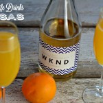 Farmwife Mimosas are a simple weekend drink at our house. A simple recipe combining two simple drinks.
