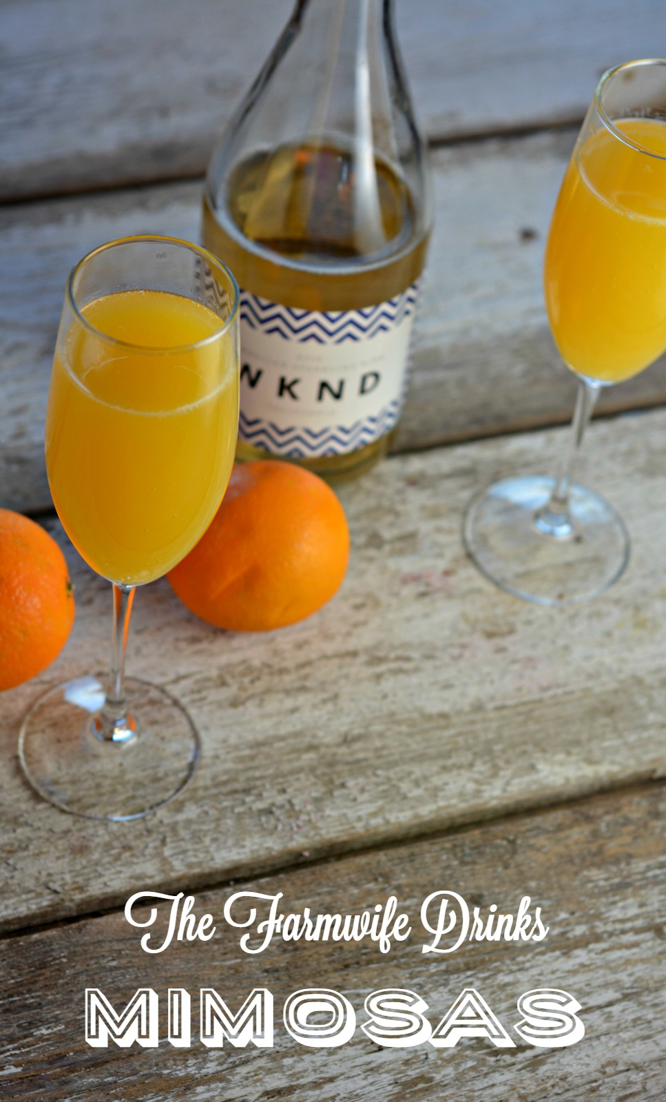 The perfect mimosa is a perfect combination of a citrus forward prosecco style sparkling wine with your favorite orange juice.