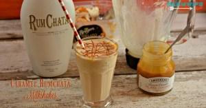 This Caramel Rumchata Milkshake mixes rumchata with caramel gelato or ice cream creates one of the best adult milkshake recipes.