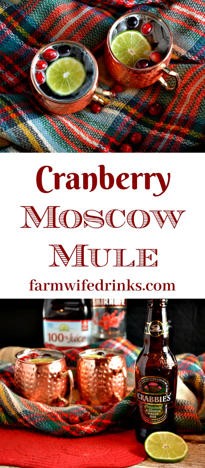 If you love a good Moscow Mule, these cranberry Moscow Mules are perfect for Christmas and a drink you will end up drinking all year long.