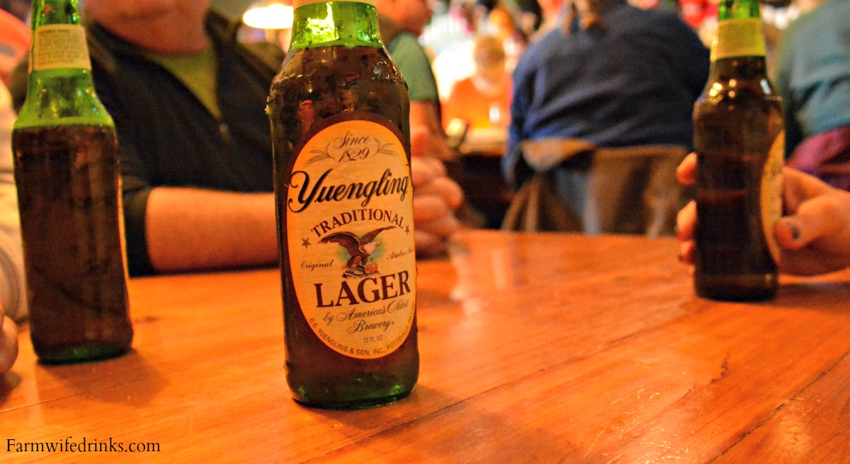Yuengling beer is one of the many reasons I love going to Florida.