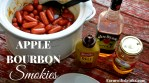 Crock Pot Apple Bourbon Smokies are a sweet and tangy change to a traditional smoked sausage appetizer recipe.
