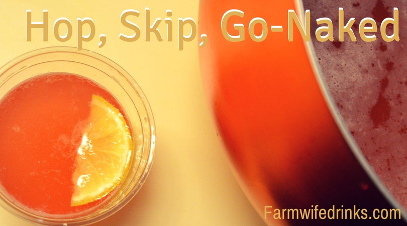 Hop, Skip, Go Naked - Bud Light Beer Punch - The Farmwife Drinks