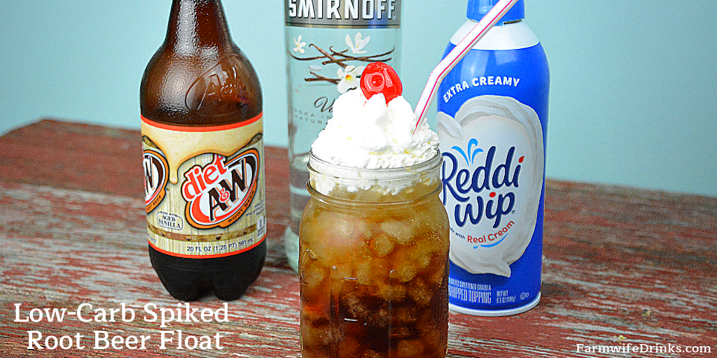 Keto Spiked Root Beer Floats The Farmwife Drinks