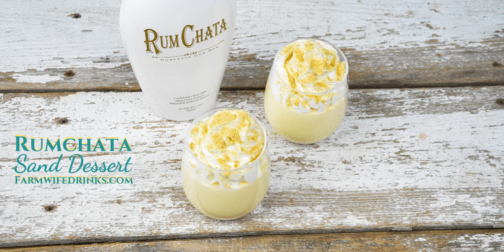 Rumchata Pudding Cup Dessert is the spiked version of sand pudding by just substituting some of the milk in the pudding for Rumchata. #Rumchata #Dessert #SandDessert #Spiked #PuddingShots