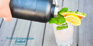 Vodka watermelon cocktail is the cocktail of summer with a refreshing hint of mint mixed in with the Simply Watermelon, mint and watermelon vodka, triple sec, and a splash of sparkling lemon water.