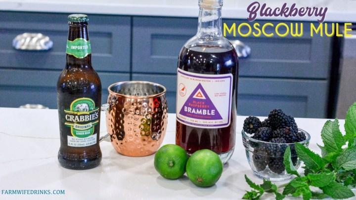 Blackberry Moscow Mule Ingredients
