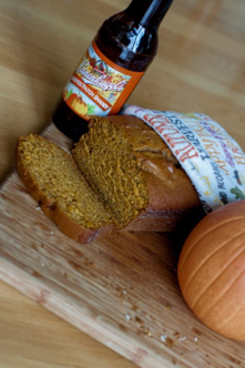 Double Pumpkin Beer Bread-Pumpkin and Pumpkin Beer, easy and delicious