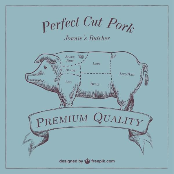 7-cut pork