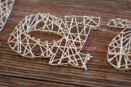 DIY String Art, fun and super easy!