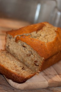 Super Easy Banana Bread-the reason bananas go bad!