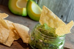 This fresh and super easy Guacamole recipe is always a huge hit with chips or as a condiment to your Mexican meal!