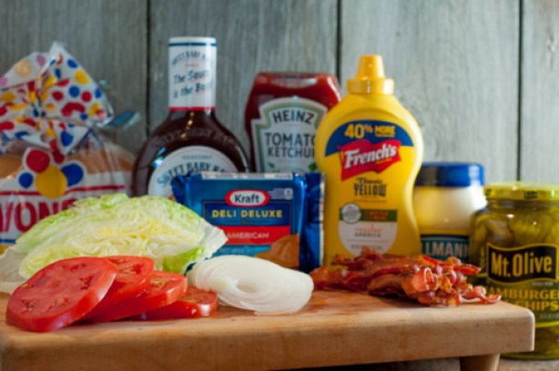Grilled Pork Burgers are easy, delicious and the perfect way to please the whole family using ground pork!