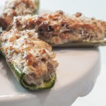 Sausage and Cheese Stuffed Jalapeños