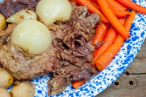 Traditional Beef Pot Roast Dinner